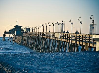 Imperial Beach Pier. Por Gary White.
